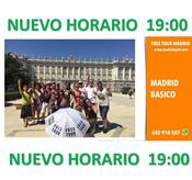 FREE TOUR: MADRID BASICO **19:00**