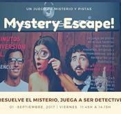 MYSTERY ESCAPE - JUGANDO A SER DETECTIVES -