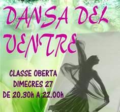 CLASSE OBERTA DE DANSA DEL VENTRE