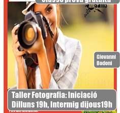 FOTOGRAFÍA NIVEL INICIACIÓN CLASE PRUEBA