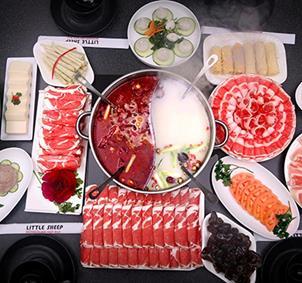 Amantes de la comida tradicional china