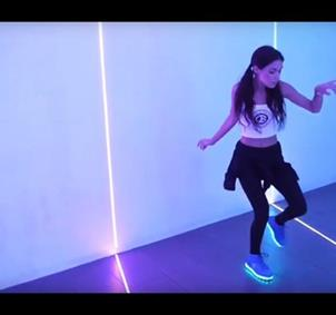 Bailar y aprender shuffle