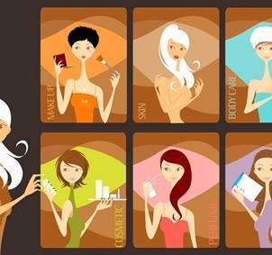 Belleza, cuidado de la piel, maquillaje