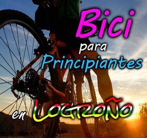 Bici para principiantes en Logroño