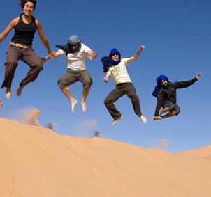 Conocer gente en Marruecos