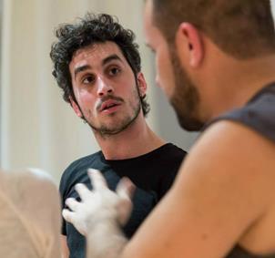 Entrenamiento actoral con técnica Daulte