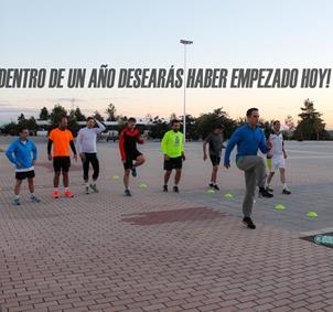 DEPORTE EN GRUPO (Parque Juan Carlos I) MADRID
