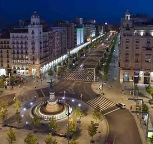 Gente joven de Zaragoza