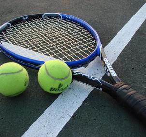 Grupo de aficionados al tenis