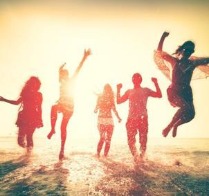 Grupo de amigos/as para quedar