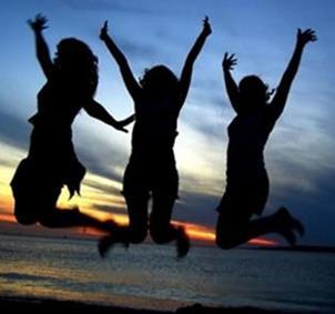 Grupo de chicas con ganas de nuevas amistades