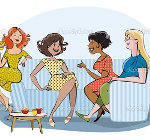 Grupo de chicas para quedar los viernes