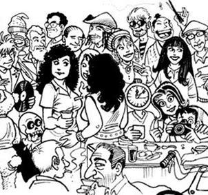 Grupo de gente para amistad de entre 25 y 35 años