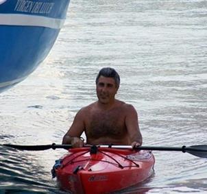 paseo en kayak por la costa
