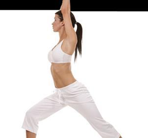 Practicantes de Yoga y Pilates.