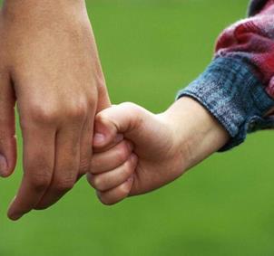 Quedadas monoparentales con niños.