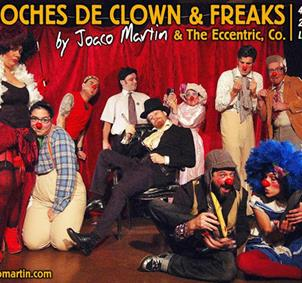 The Clowns & Freak Show 18 de Diciembre