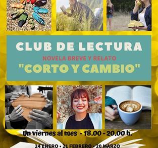 CLUB DE LECTURA: CORTO Y CAMBIO.
