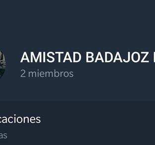 GRUPO AMISTAD BADAJOZ 2021