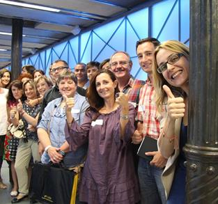 ORGANIZADORES UOLALA MADRID #CONNECTINGPEOPLE