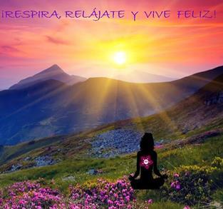RESPIRA Y VIVE FELIZ