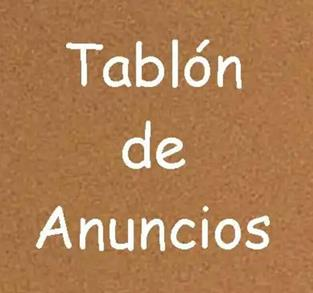 TABLÓN DE ANUNCIOS DE TRABAJO EN JAÉN Y ALREDEDORE