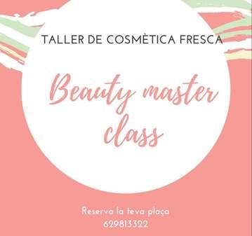 CLASE: BEAUTY MASTER CLASS, COSMÉTICA