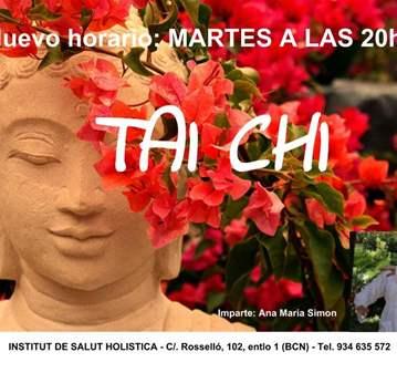 CLASE: DE TAI CHI TODOS LOS MARTES