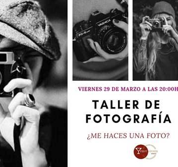 CLASE: TALLER DE FOTOGRAFÍA EN ESTUDIO.