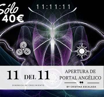 TALLER: 11 DEL 11: APERTURA DE PORTAL ANGÉLICO