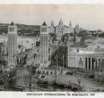 RUTA: 1929 LA EXPOSICIÓN  Y EL PUEBLO ESPAÑOL