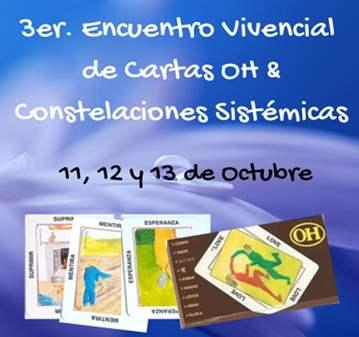 TALLER: 3º ENCUENTRO VIVENCIAL CARTAS OH Y CONS...