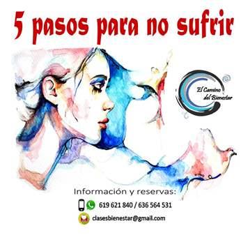 TALLER: 5 PASOS PARA NO SUFRIR
