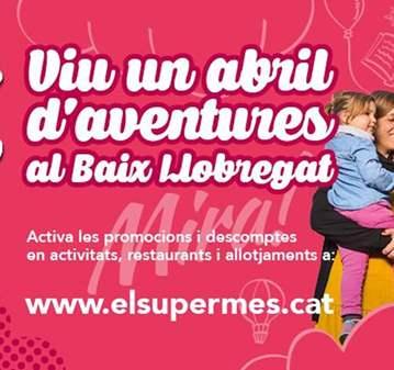 ABRIL 2017: GAUDEIX DEL SUPERMES AL BAIX LLOBREGAT