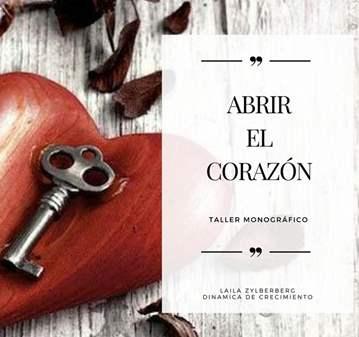 TALLER: ABRIR EL CORAZÓN
