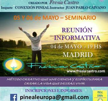 CONFERENCIA: ACTIVACION GLANDULA PINEAL
