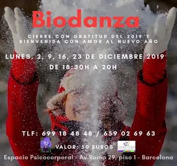 CLASE: ACTIVIDAD GRATUITA BIODANZA ESPECIAL DE ...