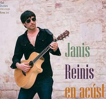 CONCIERTO: ACÚSTIC LIVE JANIS REINIS