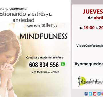 TALLER: MINDFULNESS - SOLICITAR ENLACE