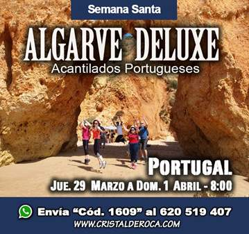 VIAJE: ALGARVE DELUXE (HOTEL 4*) ACANTILADOS PO...