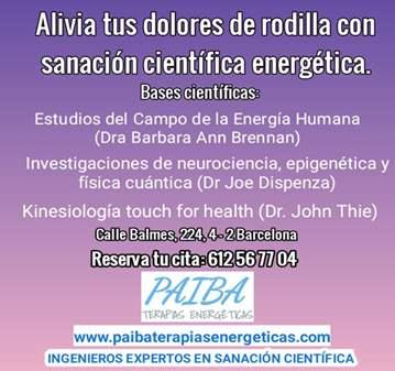 SESIÓN: ALIVIA DOLORES DE RODILLA CON SANACIÓN ...
