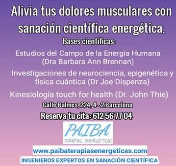SESIÓN: ALIVIA DOLORES MUSCULARES CON SANACIÓN ...