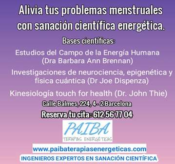 SESIÓN: ALIVIA PROBLEMAS MENSTRUALES - SANACIÓN...