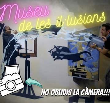 REUNIÓN: ANEM AL MUSEU DE LES IL·LUSIONS