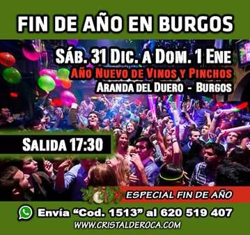 EXCURSIÓN: AÑO NUEVO EN BURGOS - VINOS/PINCHOS ...