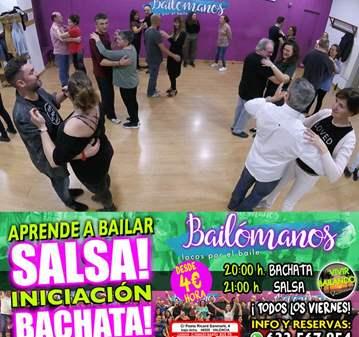 CLASE: APRENDE A BAILAR: SALSA Y BACHATA GRUPO ...