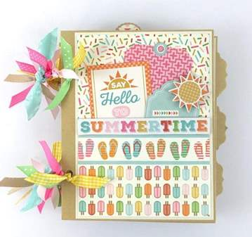 TALLER DE SCRAPBOOK: ÁLBUM SUMMER MEMORIES