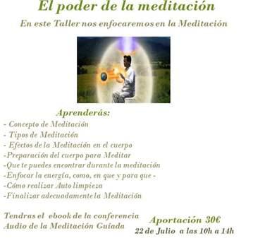 TALLER: APRENDE A MEDITAR Y SACA LO MEJOR DE ELLA