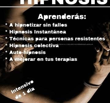 CURSO: APRENDE HIPNOSIS