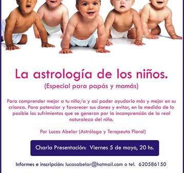 TALLER: LA ASTROLOGÍA DE LOS NIÑOS